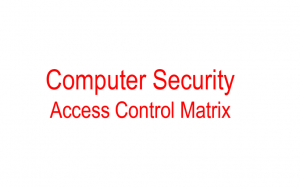 Computer Protection Stage