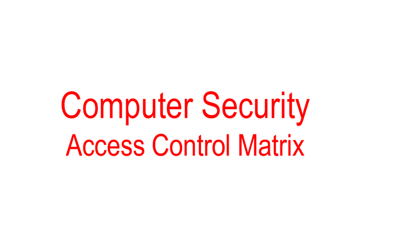 acl access control list – BioEnable
