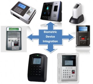 biometric device integration