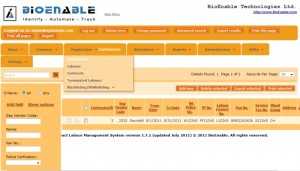 contract labor management system