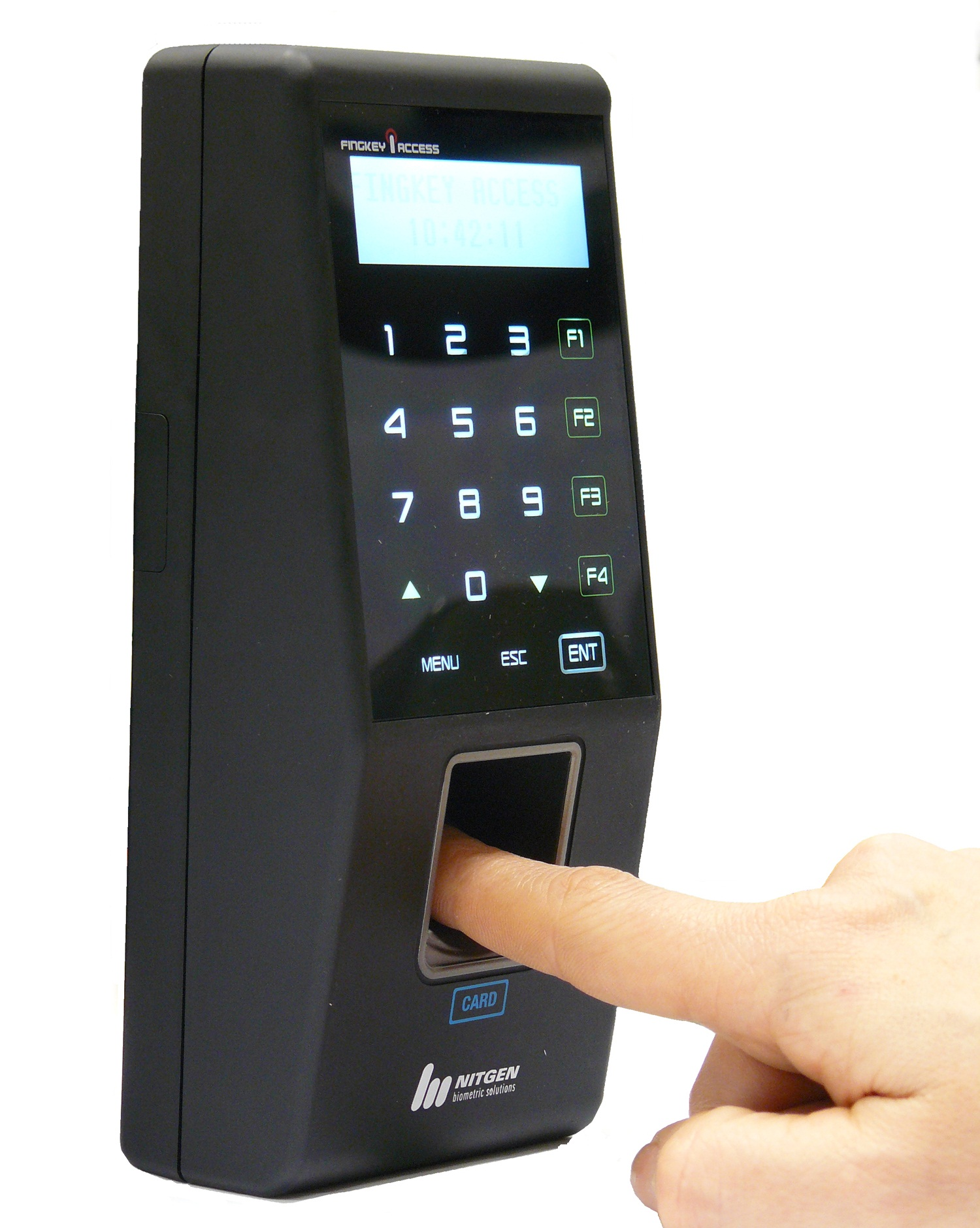 what is biometric time attendance system