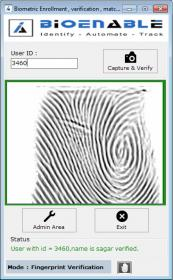 Fingerprint verification Scanner Reader Pune India