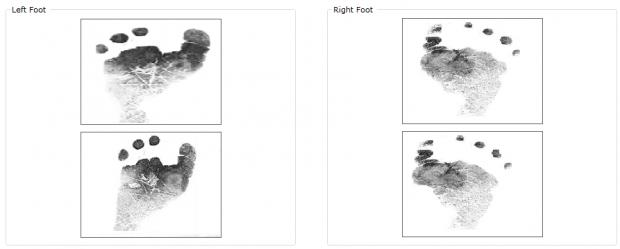 Infant Foot Identification management system
