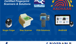 UIDAI AADHAAR PROJECT Fingerprint Scanner