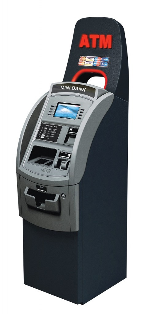 Biometrics-atm-machine