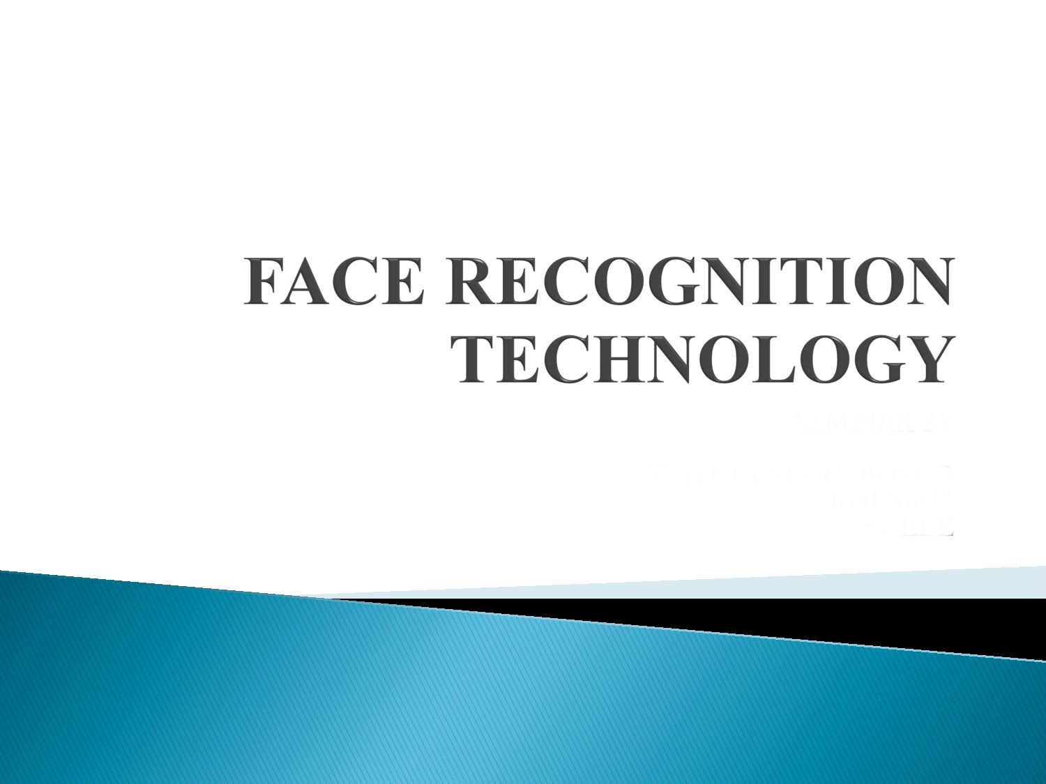 Face Recognition Technology Bioenable