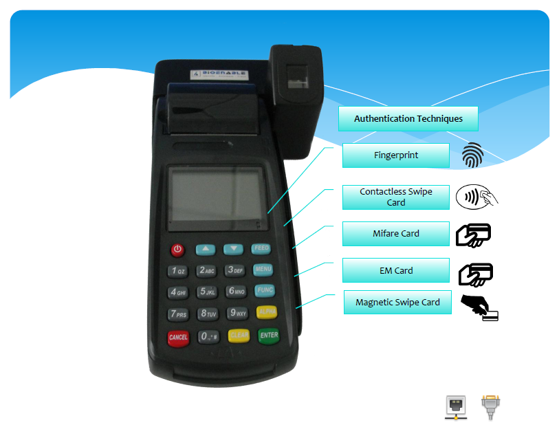 mobile data terminal features