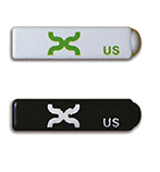 small metal mount tags