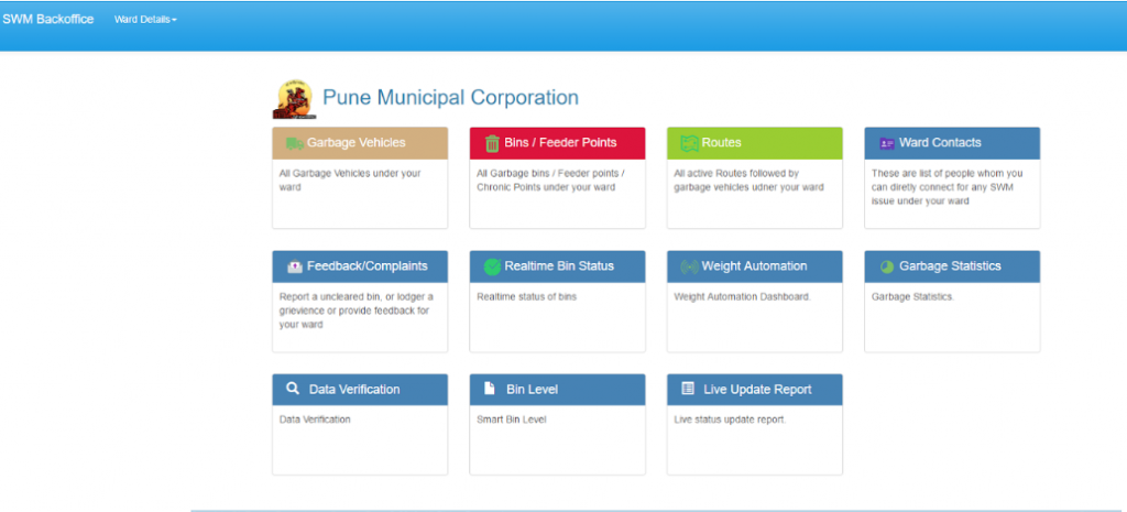 Dashboard_solud_waste_collection_system